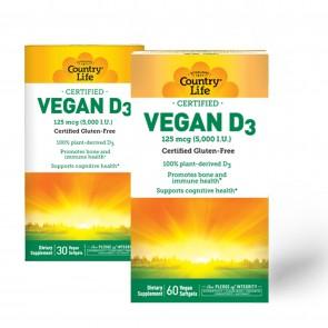 Country Life Vegan D3 5000 IU