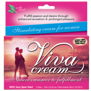 MD Science Lab Viva Cream with Mint 3 Tubes 10ml