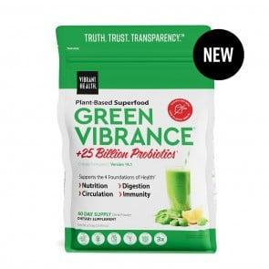Vibrant Health Green Vibrance +25 Billion Probiotics Pouch