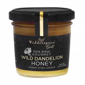 WEDDERSPOON GOLD RAW DANDELION HONEY
