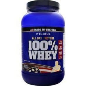 Weider 100% Whey Double Chocolate 1.94 lbs