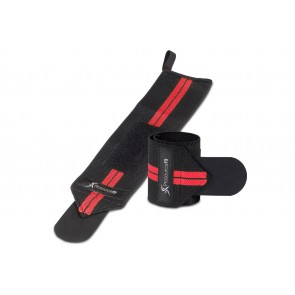 ProsourceFit Weight Lifting Wrist Wrap with Loop Red