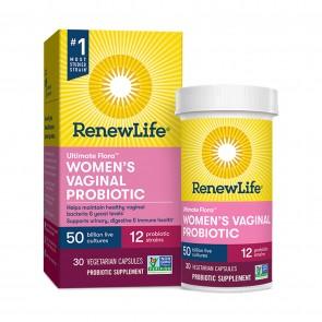 Ultimate Flora Womens Vaginal Probiotic 50 Billion 30 Vegetarian Capsules