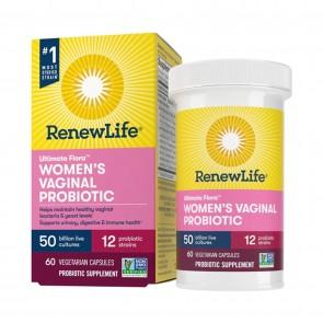 Ultimate Flora Womens Vaginal Probiotic 50 Billion 60 Vegetarian Capsules
