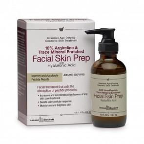 Janson Beckett 10% Argireline & Trace Mineral Enriched Facial Skin Prep with Hyaluronic Acid 4.0 fl oz