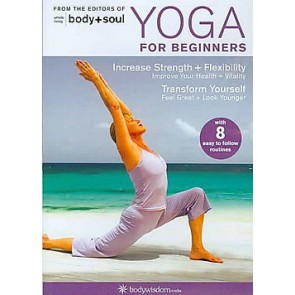 Yoga For Beginners - DVD With 8 Routines