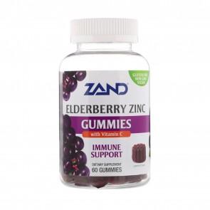Zand Elderberry Zinc Gummies with Vitamin C 60 Gummies