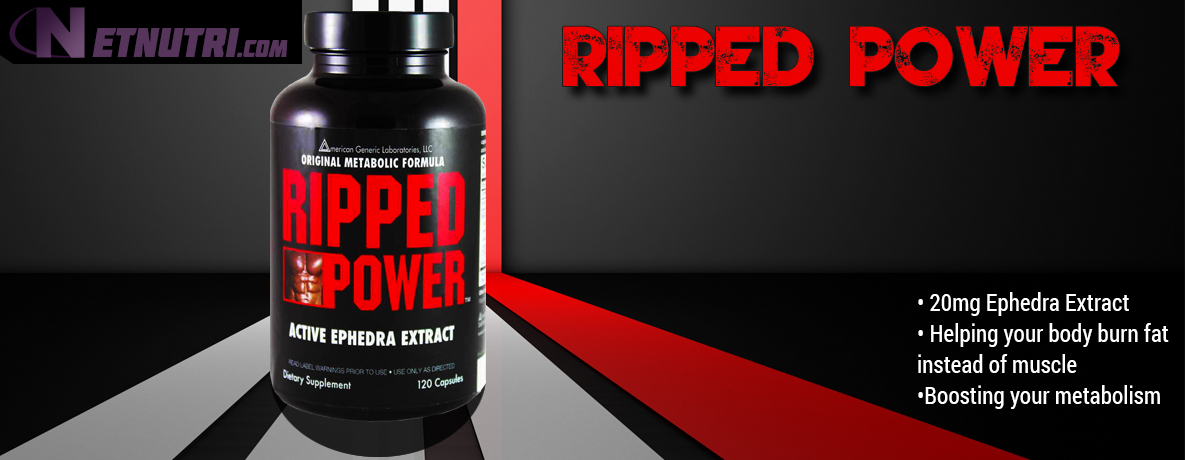 Ripped Power with ephedra extract